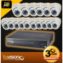 Cctv Kit De 16 Camaras + Tv Led De 32 Todo Incluido !!