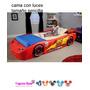 Disney Cars Cama Sencilla Con Las Luces Envio Gratis