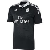 Camiseta Oficial Negra Real Madrid 14/15 James 100% Original
