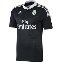 Camiseta Oficial Negra Real Madrid 14/15 James 100% Original