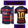Camiseta Del Fc Barcelona 15/16 ( #10 Messi )