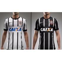 Camiseta Del Corinthians D Brasil Oficial 2015, 25% Dto