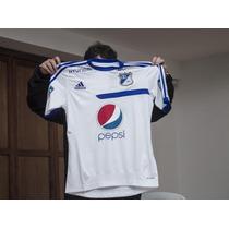 Camiseta Entrenamiento Millonarios 2013 Oficial Blanca