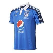 Camiseta Millonarios 100% Original, Directo De Adidas. B. D.