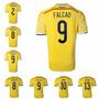 Camiseta Colombia Original 2014 Numero Nombre De Jugadores