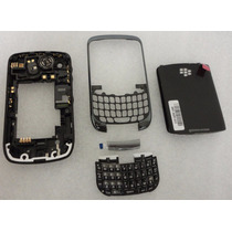 Carcasa+marco+tapa Trasera+teclado Oem Blackberry 9300,9330