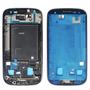Marco Medio Para Samsung Galaxy S3 I9300 Azul