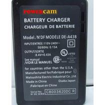 Cargador Powercam De A43 Para Panasonic Dmc Fz50 Dmc Fz7 Fz8