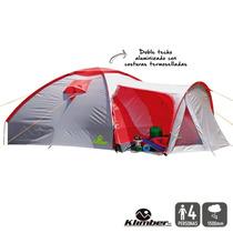 Carpa Para Camping 4 Personas Con Sobre Carpa