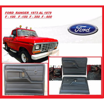 Carteras Tapizeria Ford Ranger 1973 - 79 F100 F150 F350 F600