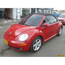 Volkswagen New Beetle Cabrio At 2000cc 2p Fe