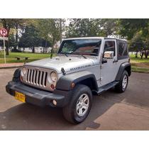 Jeep Wrangler Rubicon Sport M/t /2010 Capota Dual