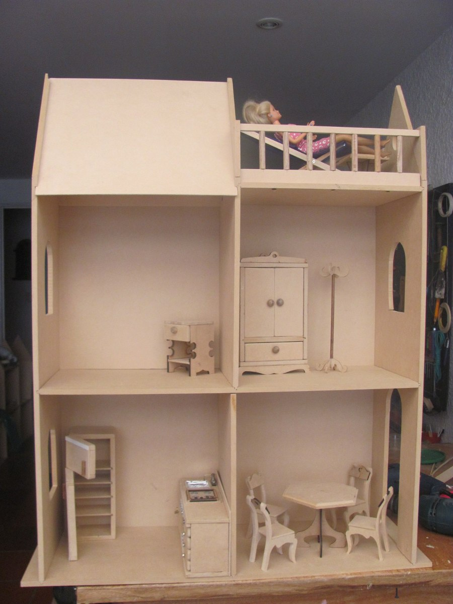 De Casa Para Muñeca Barbie Avellaneda Pictures to pin on Pinterest