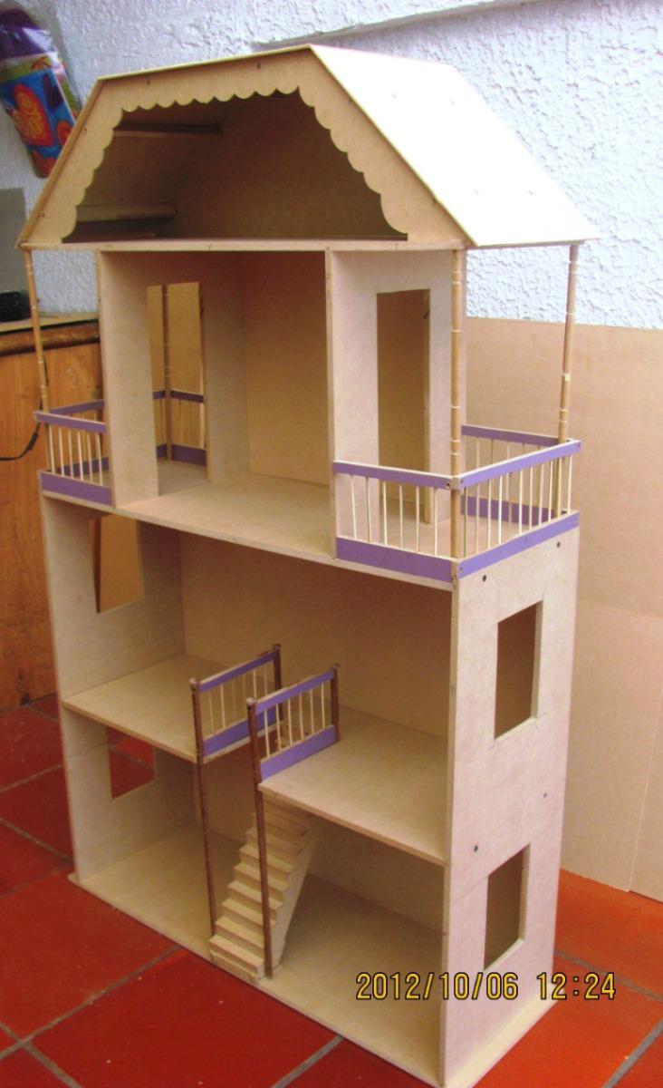 Casas de madera para mu ecas barbie images - Casa de madera ...