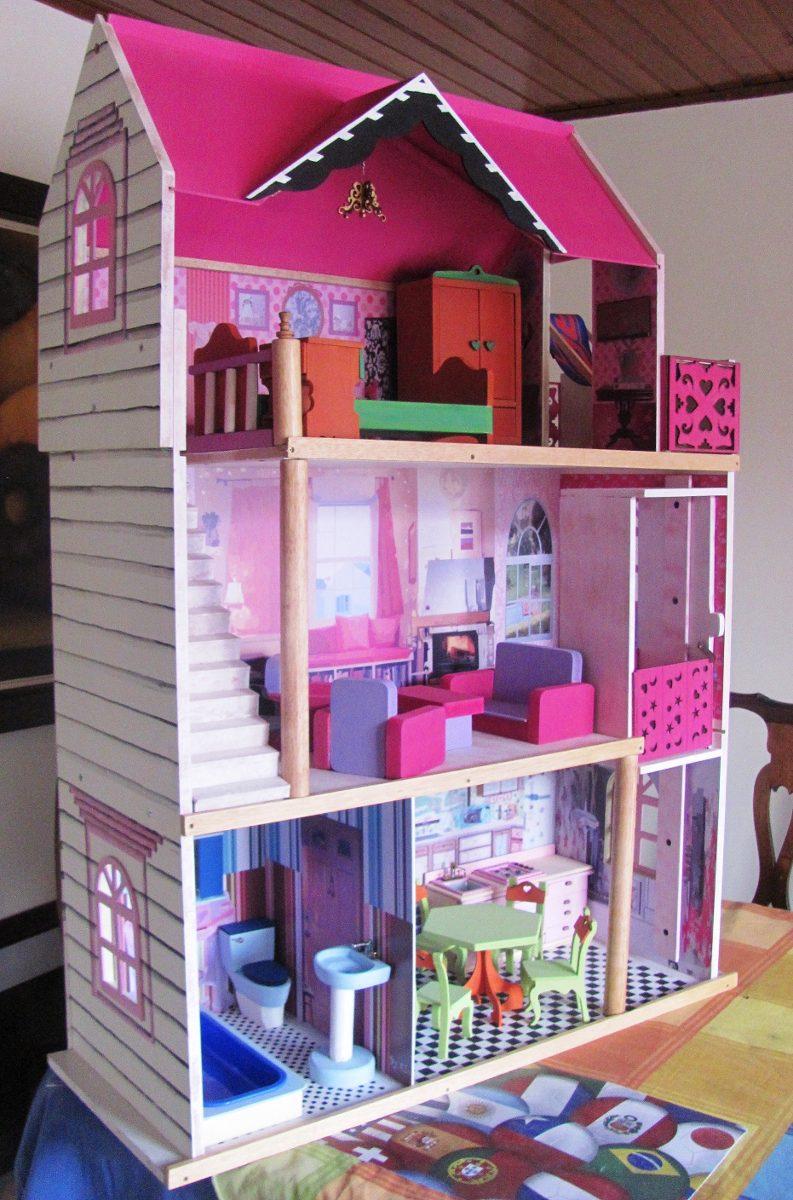 Casa mu ecas casa barbie casita mu ecas casa barbie - Juegos de decorar la casa de barbie con piscina ...