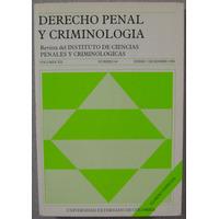 Derecho Penal Y Criminologia - Universidad Externado Colombi
