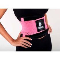 Faja Cinturon Tecnomed Moldea Reduce Cintura Soporte Lumbar