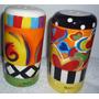 Set X 2 Ceramica Decorativa Para Mesa Oregano Y Parmesano