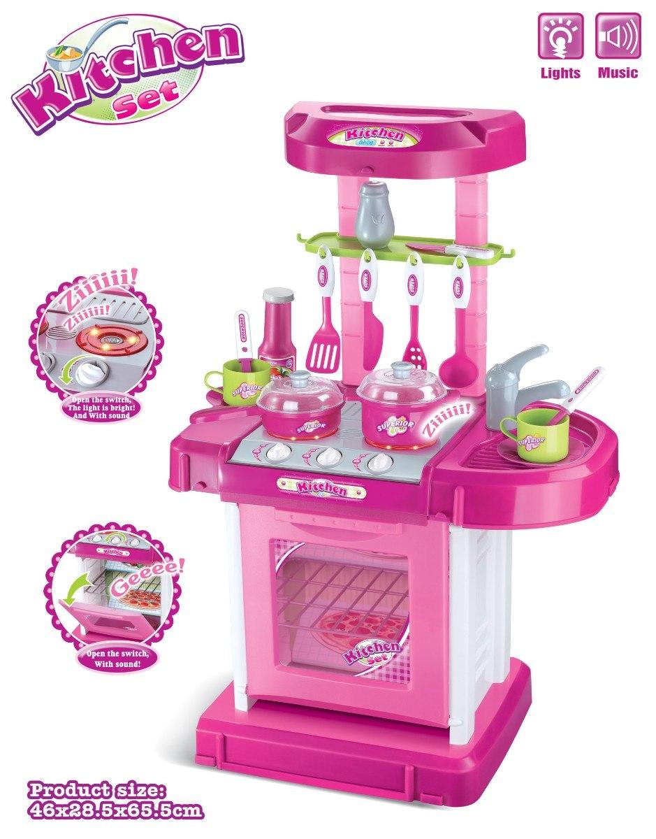 cocina maletin didactico para princesas nias xxcm en mercado libre