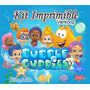 Kit Imprimible Bubble Guppies + Candy Bar Cumples Y Mas Co