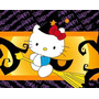 Kit Imprimible Hello Kitty Halloween Invitaciones Cajitas #2