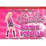 Kit Imprimible Barbie Popstar Rock Tarjetas Cumpleanos #4