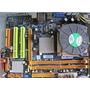 Board Con Procesador Core2quad 4nucleos D2.33ghz Hdmi Cooler