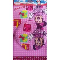 Tapete Juego De Baño Infantil Diseño De Minnie Varios Motivo