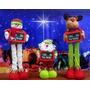 Muñecos De Navidad Cuenta Regresiva Tamaño Ajustable