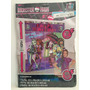 Mural Decorativo Fiesta Monster High