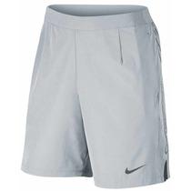 Pantaloneta Nike Hombre Tenis Gris Gladiator Short