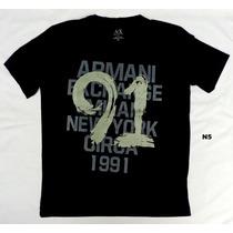 Camisetas Cuello V Armani Originales 100% Talla Xl