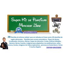 Super Mega Kit Plantillas Mercadolibre Diseños Publicaciones