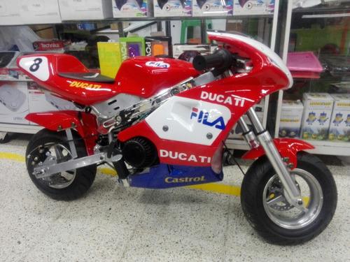 Ducati Mini Ninjas Para Niños A Gasolina 2017