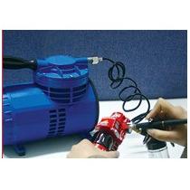 Aerografo + Compresor Profesional