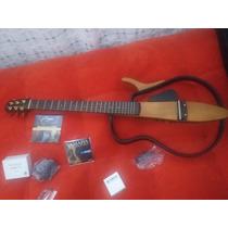 Como Nueva! Guitarra Yamaha Silent Sgl 110s