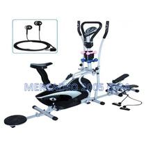 Eliptica 10 En 1-2014 - Bicicleta Estática Twister Pesas Rad