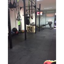 Piso Fino En Caucho Para Gym