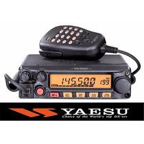 Promo Radio Base Yaesu Vhf Movil 55w 200can Microfono Progrm