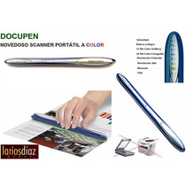 Escaneres Portatiles Docupen Rc805 100% Originales!