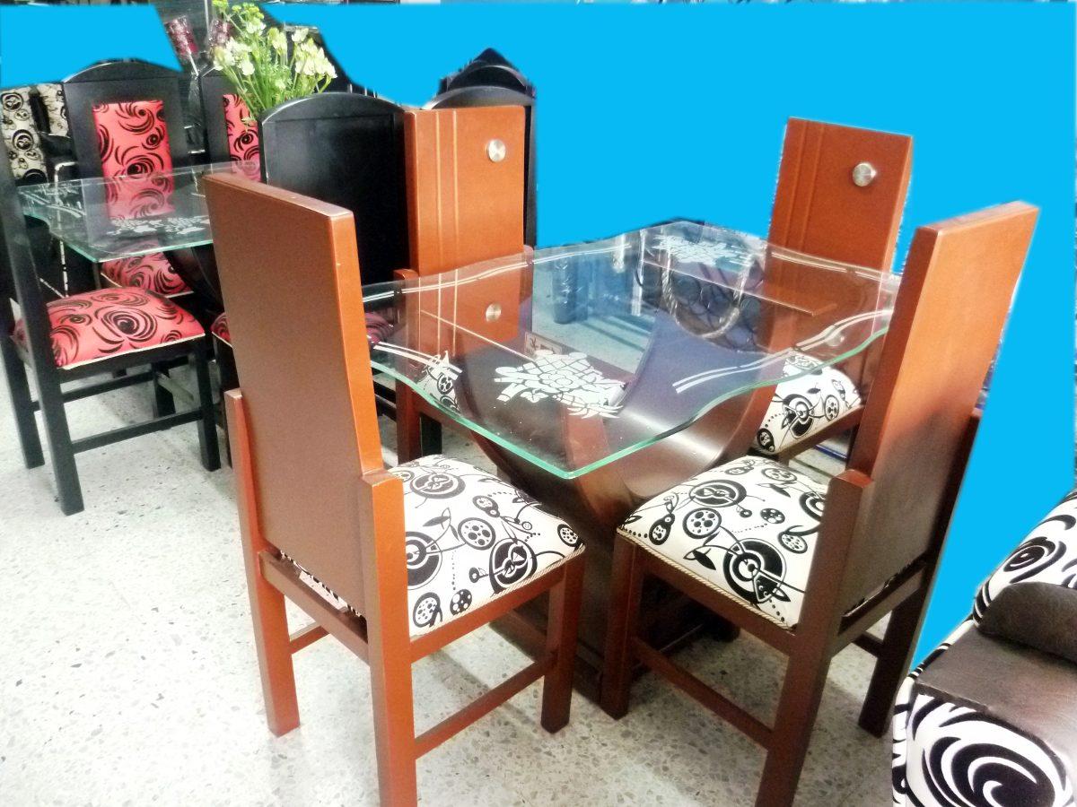 Muebles de comedor en madera modernos images for Comedor moderno de madera