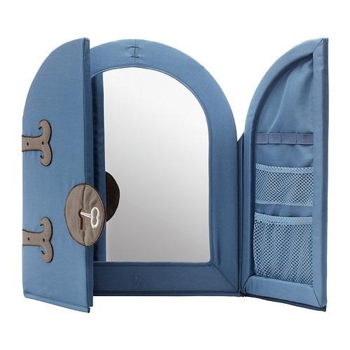 espejo azul:
