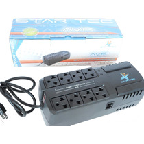 Regulador Startec 600 Va 8 Tomas