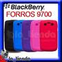Forro Blackberry 9700 Silicona Acrilico Cuero Funda Bold 2