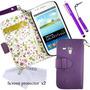 Estuche Billetera Samsung Galaxy S3 Mini -protector Pantalla