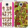 Estuche Samsung Galaxy S4 Hello Kitty Forro Fashion I9500 +