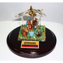 Pesebre Palmera De Cristal Celular Con Murralla De Esmeralda