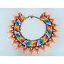 Collar Original Tejido Por Cultura Embera Chamí