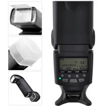 Flash Profesional Auto Focus Ttl Pantalla Lcd Canon Nikon