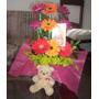 Diselo Con Flores Bello Ramo Gerberas +envio +obsequio Mujer